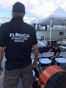 LED Glow Furniture Rental Miami